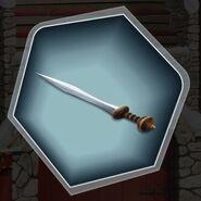 Trh3 standard gladius sword blade