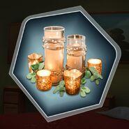 Vanilla spice copper bronze candles scent