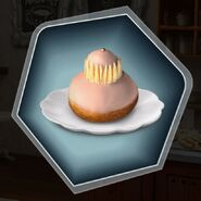 French pastry donut religieuse