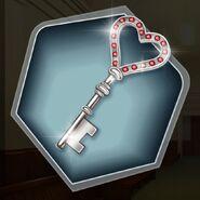 SD TRM reused heart key