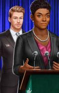 CaucasianMaleHarleybehindFemalePresident