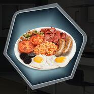 Avsp British fry up full breakfast