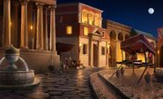 ACOR Roman Street Night