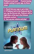 Platinum PSA for 05-30-19
