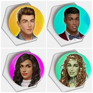 Choices TE LIs buttons