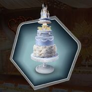 TRR wedding cake fairytale decorations