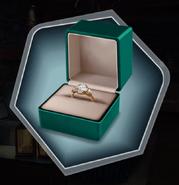 Drake's ring to MC