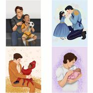 Choices fanart fathers day 06212020 by Choices Tumblr fans -the-everlasting-dream and -boring-doll