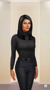 RCD Actress Outfit