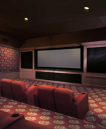 Priya's House Theatre Room