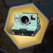 Wabr polaroid camera