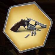 Wb revolver gun silver bullets