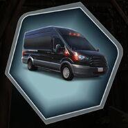 Unmarked Van Black Vehicle