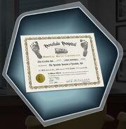 Lydia Birth Certificate