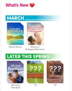 Choices Insiders March 2020 Release Schedule