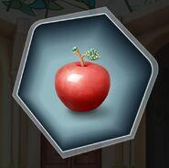 Tuh red apple gem plastic porcelain