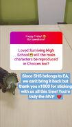 No Surviving High School Reboot