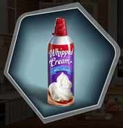 Whipped Cream Spray Can