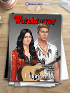 P MC and Male Avery on Watchtower Magazine Cover