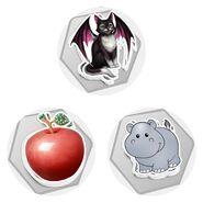 Choices threep apple hippo decals