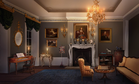 Ernest Sinclaire's London Townhouse - Sitting Room