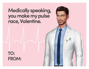 OH 2021 Valentines Day Card Ethan