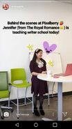 JenniferteachingWriter'sSchool