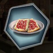 Trh2 king apple jam on bread