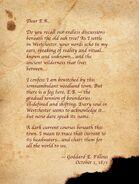 Goddard E Filleus Letter 2