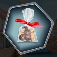 Chocolate truffles bag