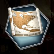 HFTH World Map gift
