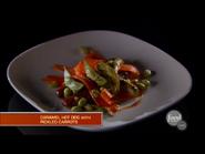 Jun's Caramel Hot Dogs and Carrot Sauerkraut