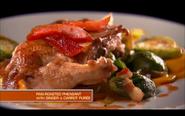 Milton's Pheasant and Carrot Purée