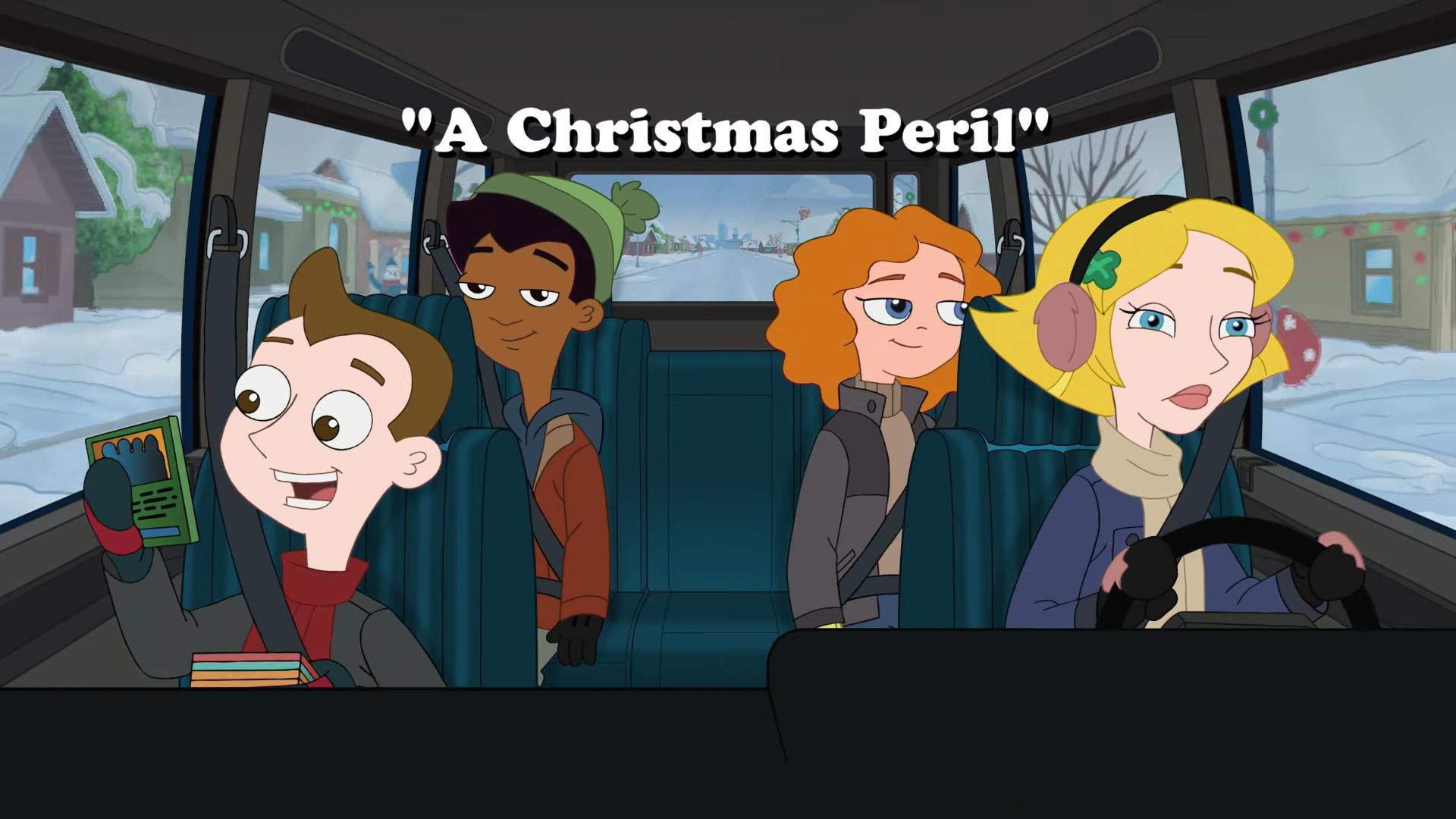 A Christmas Peril (Milo Murphy's Law)