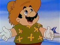 Mario in the SMBSS Christmas episode