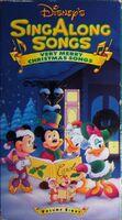 DisneysVeryMerryChristmasSongs VHS 1990