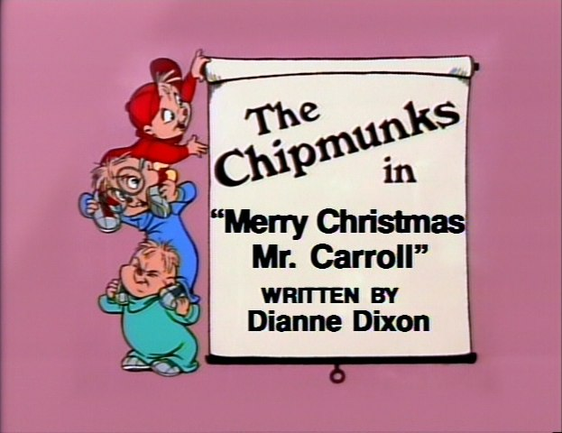 Merry Christmas, Mr. Carroll
