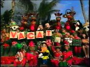 Disney World Parades Christmas Vacation I at Typhoon Lagoon