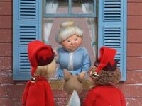 Mrs. Claus assigns Jingle and Jangle