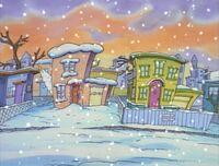 Snow falls on O-Town