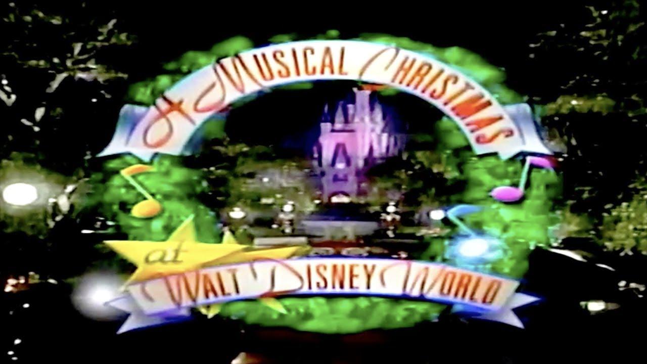 A Musical Christmas at Walt Disney World