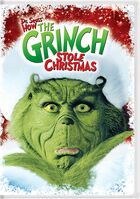 How The Grinch Stole Christmas 2016 DVD