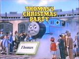 Thomas' Christmas Party