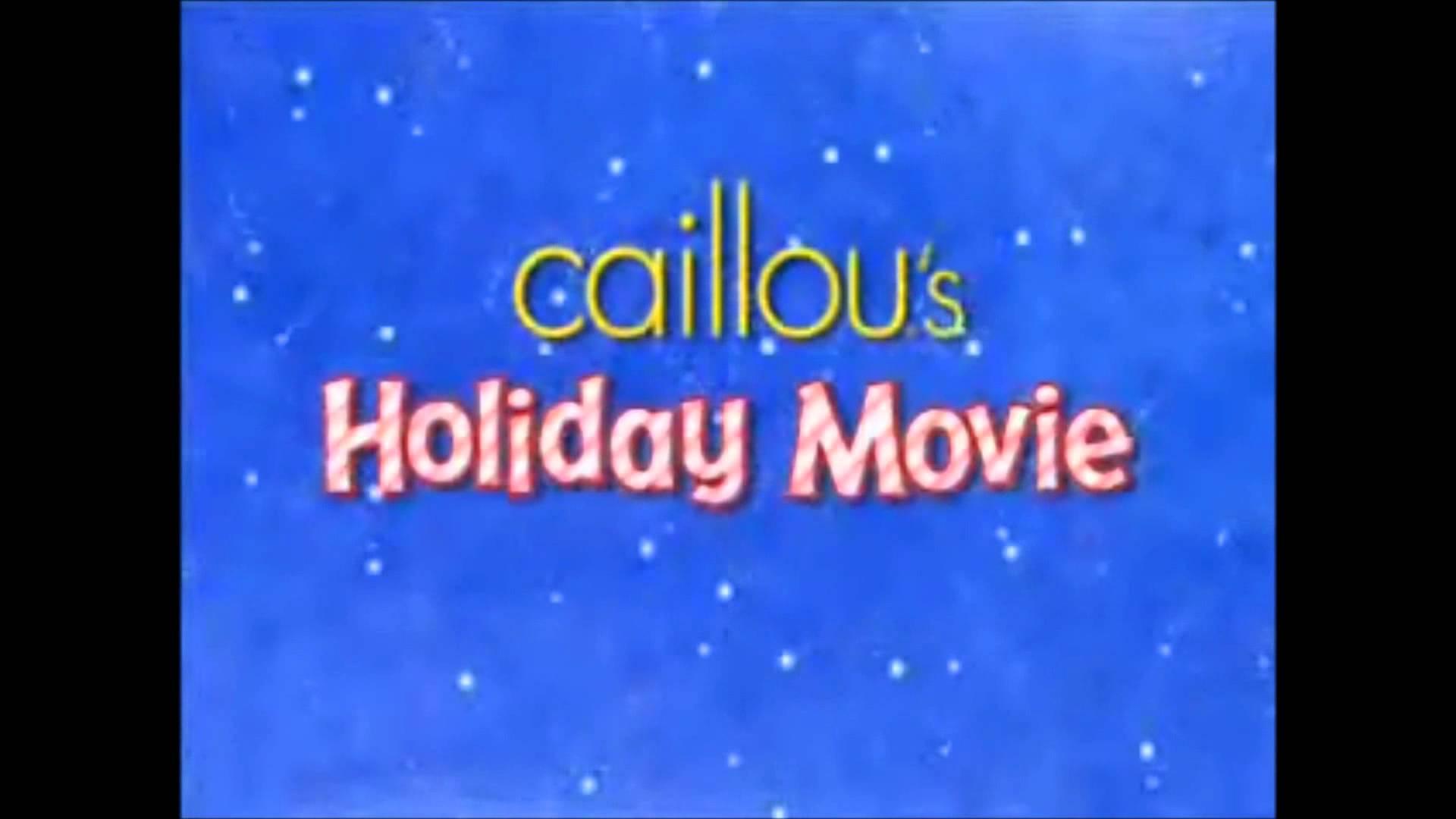 Caillou S Holiday Movie Christmas Specials Wiki Fandom