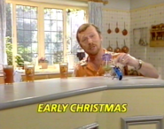Early Christmas title card
