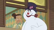 TLoFtSm- Sara whispers to Frosty