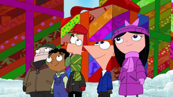 PnF and friends at Christmastime.png