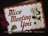 Mice Meeting You