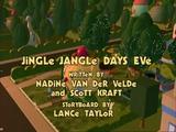 Jingle Jangle Days Eve