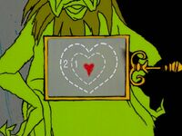 Grinch's heart is too small